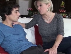 Son is leaving home, but Stepmom gives say no around hot pussy around stay